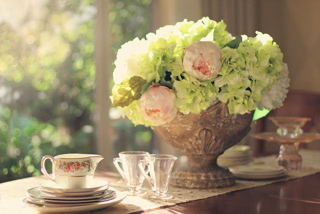 Pretty Tableware, Living From Glory To Glory Blog