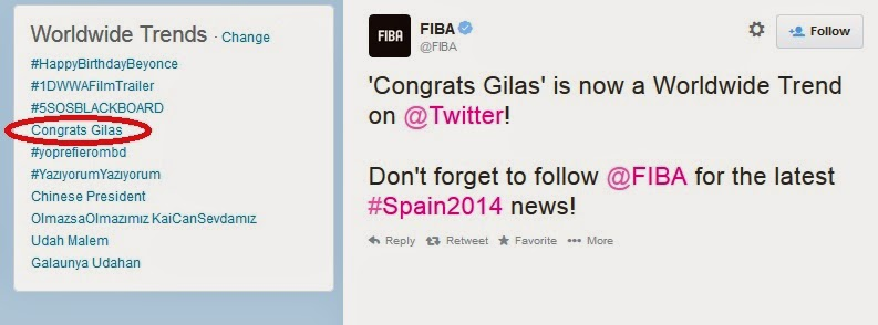 Congrats Gilas, FIBA 2014, Gilas Pilipinas, Senegal, Basketball, Gilas won FIBA, Gilas won over Senegal