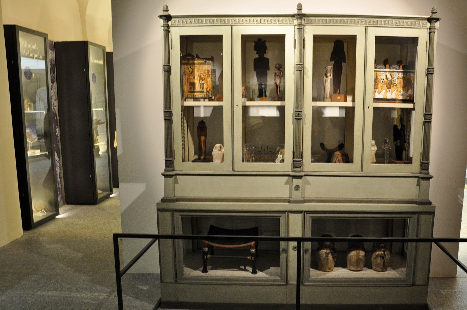 Ancient Egyptian artefacts, Egyptian Museum, Turin, Italy