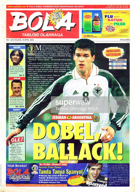 MICHAEL BALLACK MAGAZINE COVER