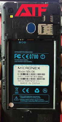 MICRONEX MX-54 FLASH FILE FIRMWARE