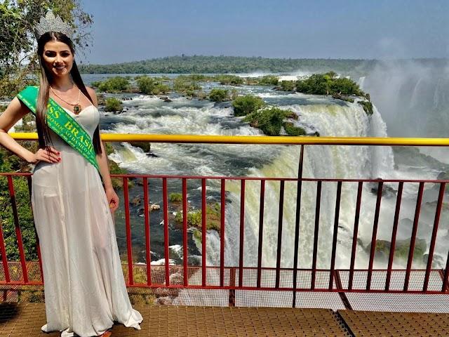 Representante de Foz do Iguaçu vai para o The Miss Globe World
