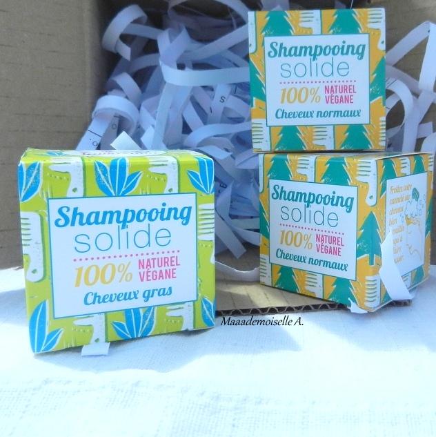 Shampooings solides Lamazuna