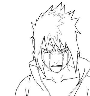 Sketsa Mewarnai Gambar Kartun Naruto 20168