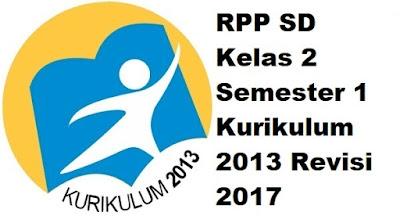 RPP SD Kelas 2 Semester 1 Kurikulum 2013