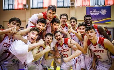 FIBA U18 Europe - Türkiye - Genç Milli Takım çeyrek finalde