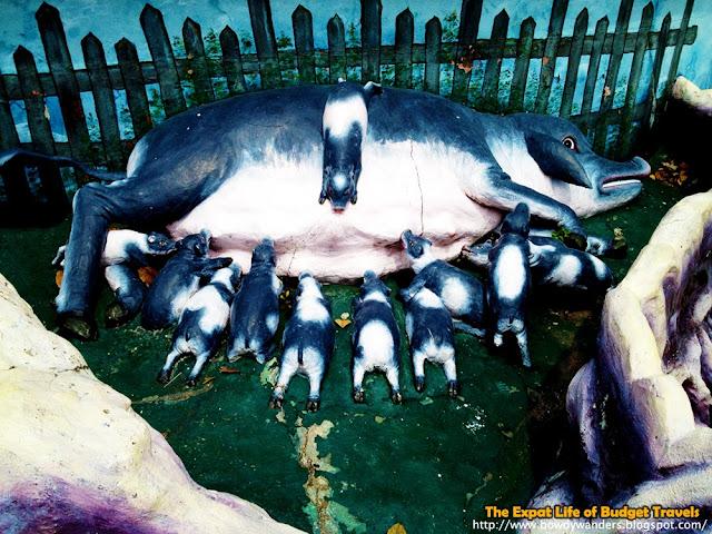 bowdywanders.com Singapore Travel Blog Philippines Photo :: Singapore :: Haw Par Villa Dragon World in Singapore