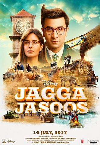 Jagga Jasoos 2017 Hindi 480p DvDRip x264 500MB