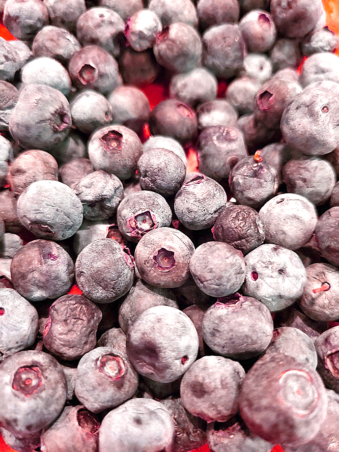 fresh blueberries recipe