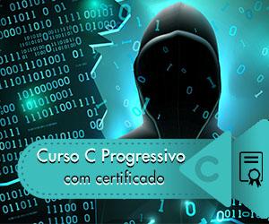 Curso de C online com certificado grátis