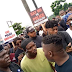 BREAKING: Endsars Protesters Ignore Wike's Order, Storm Streets Of Port Harcourt
