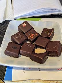 Artesanal chocolates from Geiranger Sjokolade Fjordnær