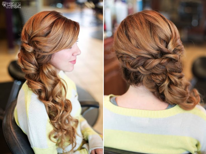 23 Romantic Wedding Hairstyles For Long Hair: Wedding Dresses For Lifetime: Beautiful Bridal Updos