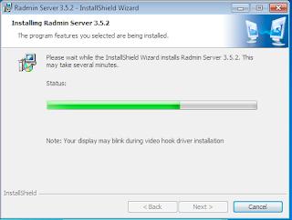 Instalasi Radmin Server