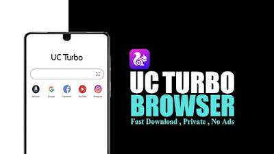 UC Turbo es un navegador con diseño minimalista funciones como Descarga rápida, Página de inicio personalizable