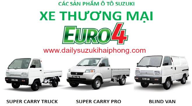bán xe bán tải Suzuki Blind Van tại Hải Phòng