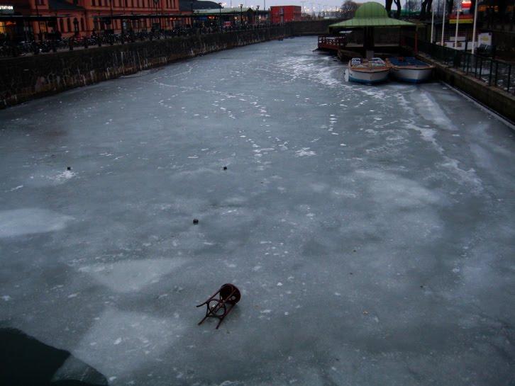 Malmo under isen