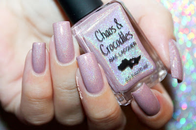 "Swatch of the nail polish ""Forgotten Paths"" from Chaos & Crocodiles"
