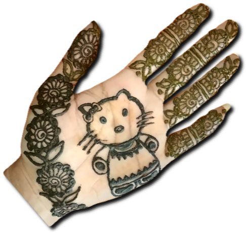 Kitty Mehndi for Kids