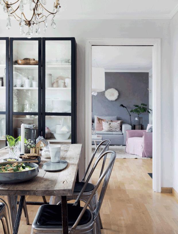 Un apartamento nórdico con tres comedores + shopping para conseguir el estilo