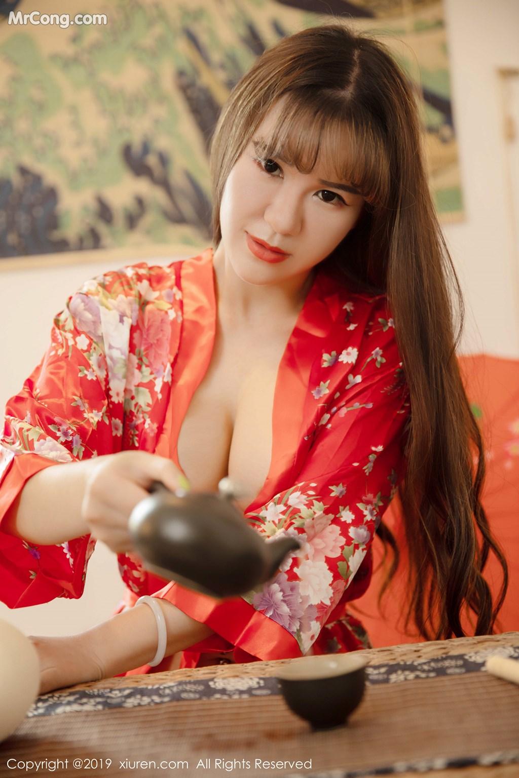 Image XIUREN-No.1647-Wang-Zi-Lin-MrCong.com-005 in post XIUREN No.1647: Wang Zi Lin (王紫琳) (83 ảnh)
