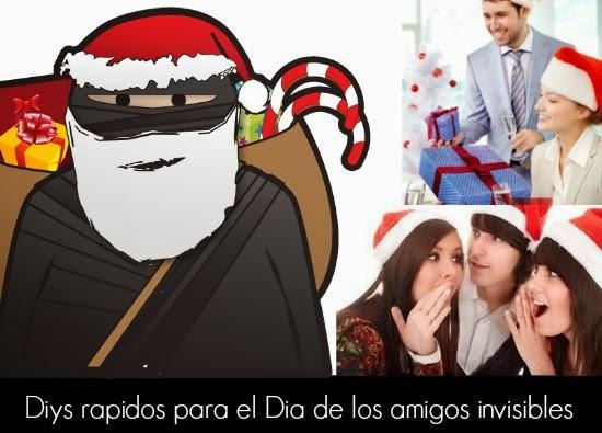 regalos, fiestas, amigos invisibles, manualidades, diys
