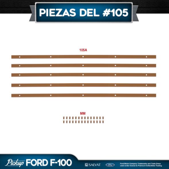 Entrega 105 Ford F-100