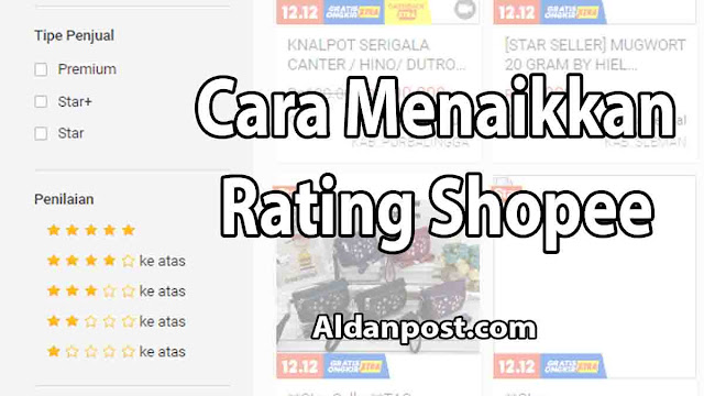 cara-menaikkan-rating-shopee