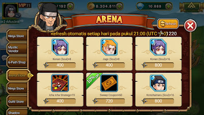 Arena Store Ninja Rebirth_MangtoyPedia