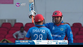 Zimbabwe vs Afghanistan 9th Match ICC World T20 2016 Highlights