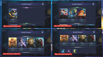 Hadiah Event Lunox's Gift 11 Juni 2019 Mobile Legends