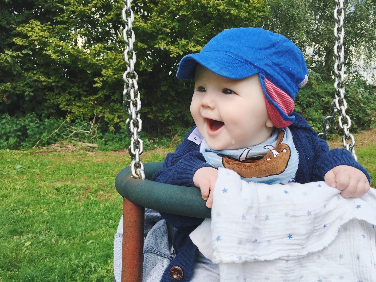 Tyler is 7 months old! | Love, Maisie | www.lovemaisie.com
