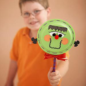 diy manualidades para hacer con peques niños kids en Halloween