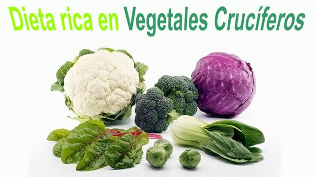 Dieta rica en vegetales crucíferos para la reducción del hígado graso
