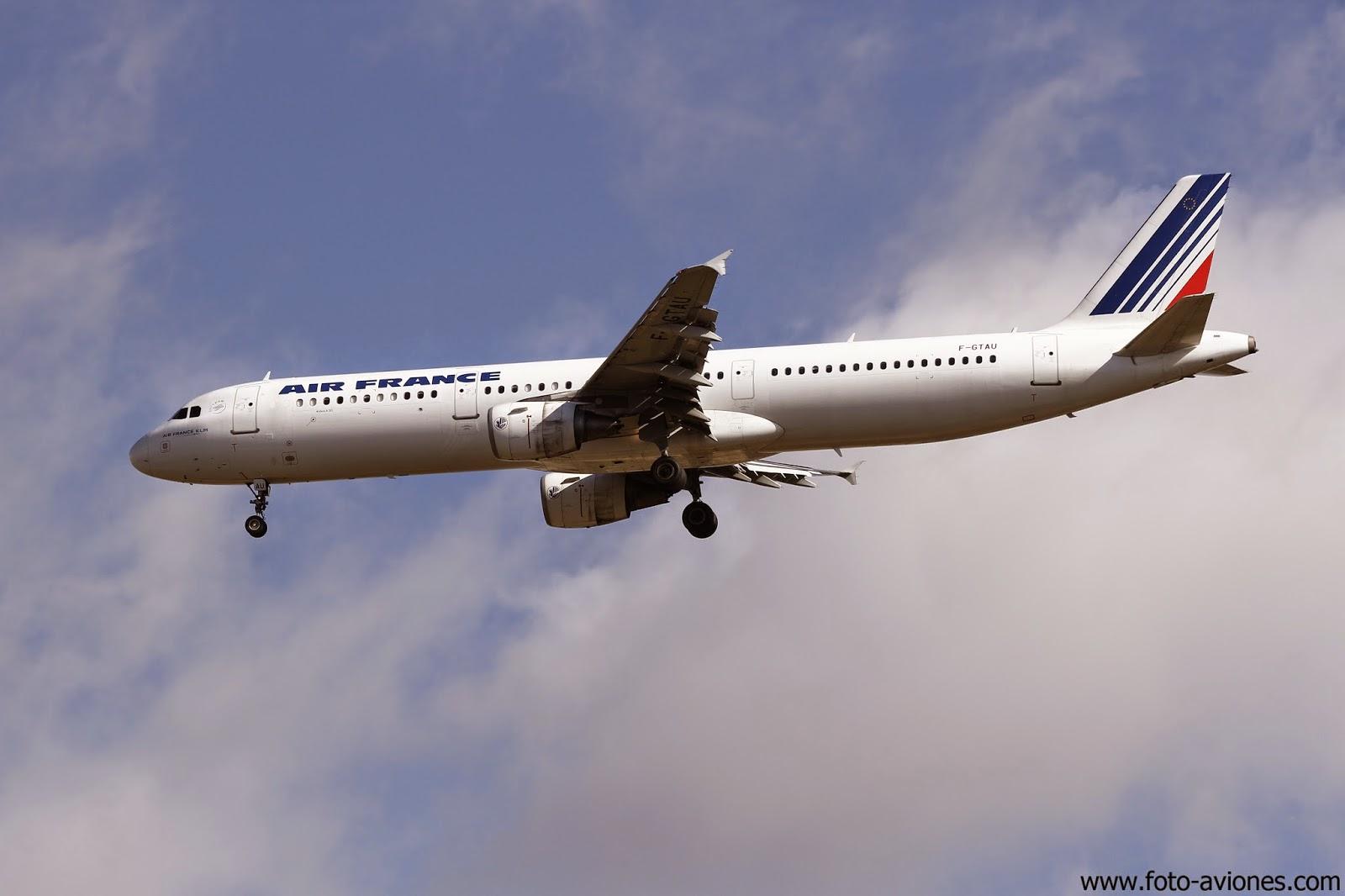 Airbus A321 / F-GTAU