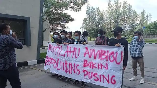 Aliansi mahasiswa Melawan Ketidakadilan Rakyat Kembali Gelar Aksi Tuntut Transparansi Rutilahu