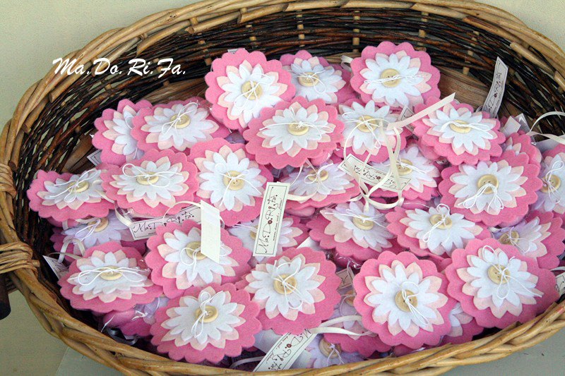 Amato Ma.Do.Ri.Fa.: I fiori bomboniera SL98