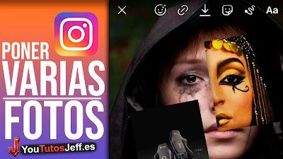 Como Poner Varias Fotos en una Historia de Instagram