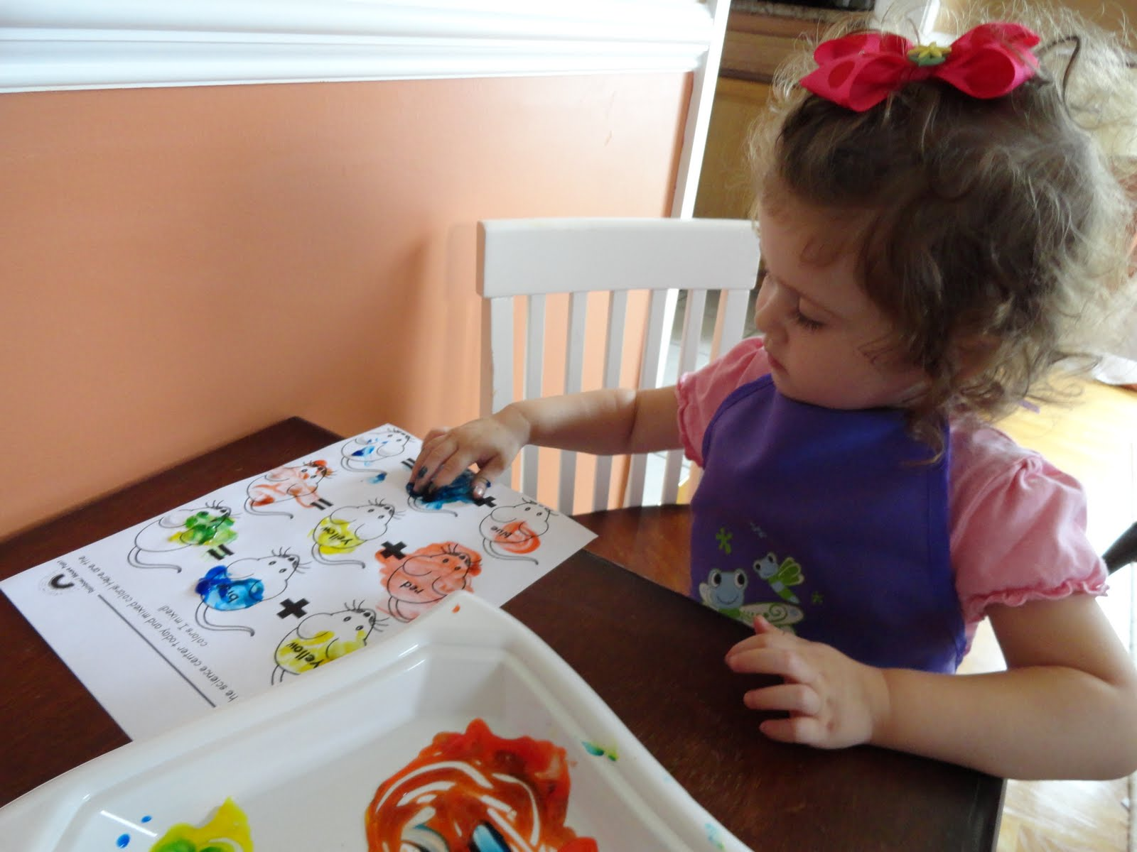 Izzie Mac And Me Mouse Paint Crafts