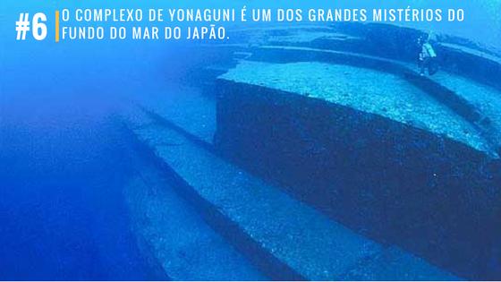 O complexo de Yonaguni é um dos grandes mistérios do fundo do mar do Japão.