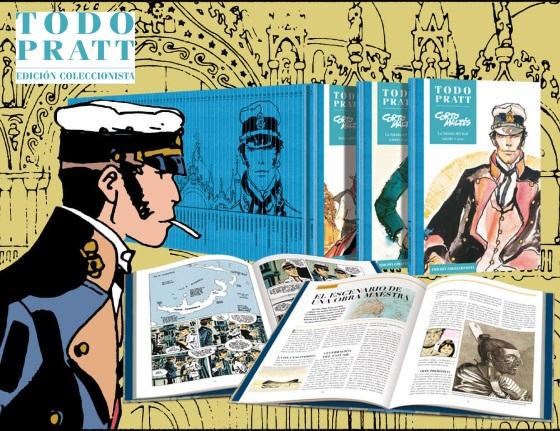 Todo Pratt. Edición Coleccionista, la Edición Definitiva de la Obra de Hugo Pratt en Español