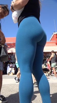 Mujeres bonitas lindas nalgas leggins deportivos