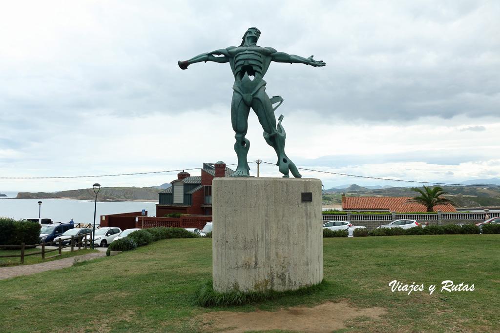 La estatua de los vientos. Qué ver en Suances