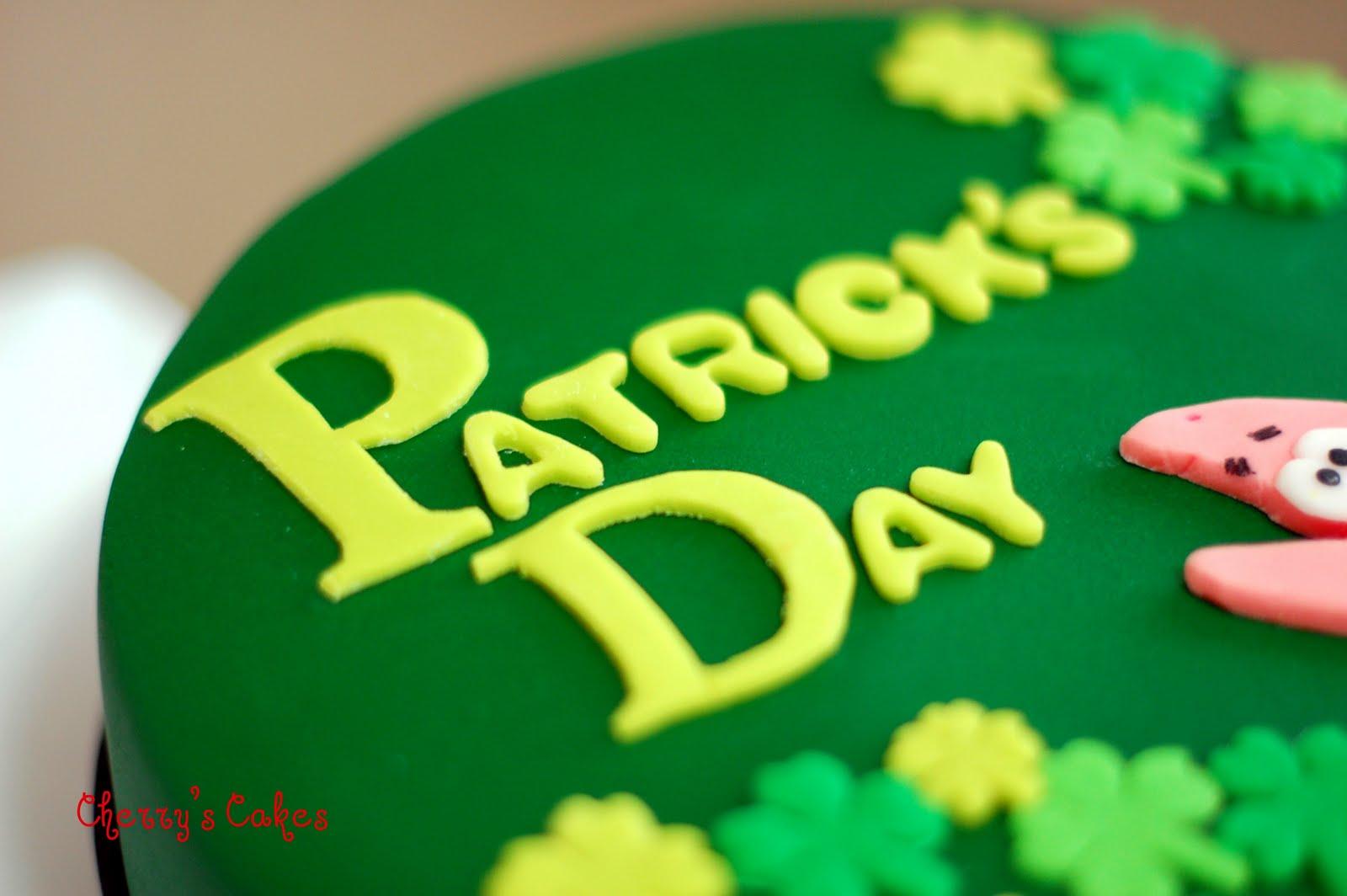 Cherry S Cakes Patrick S Day