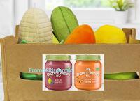 Logo Cuore di Natura ''Per piccoli intenditori 2018'': vinci 62 set con Peluche a forma di frutta