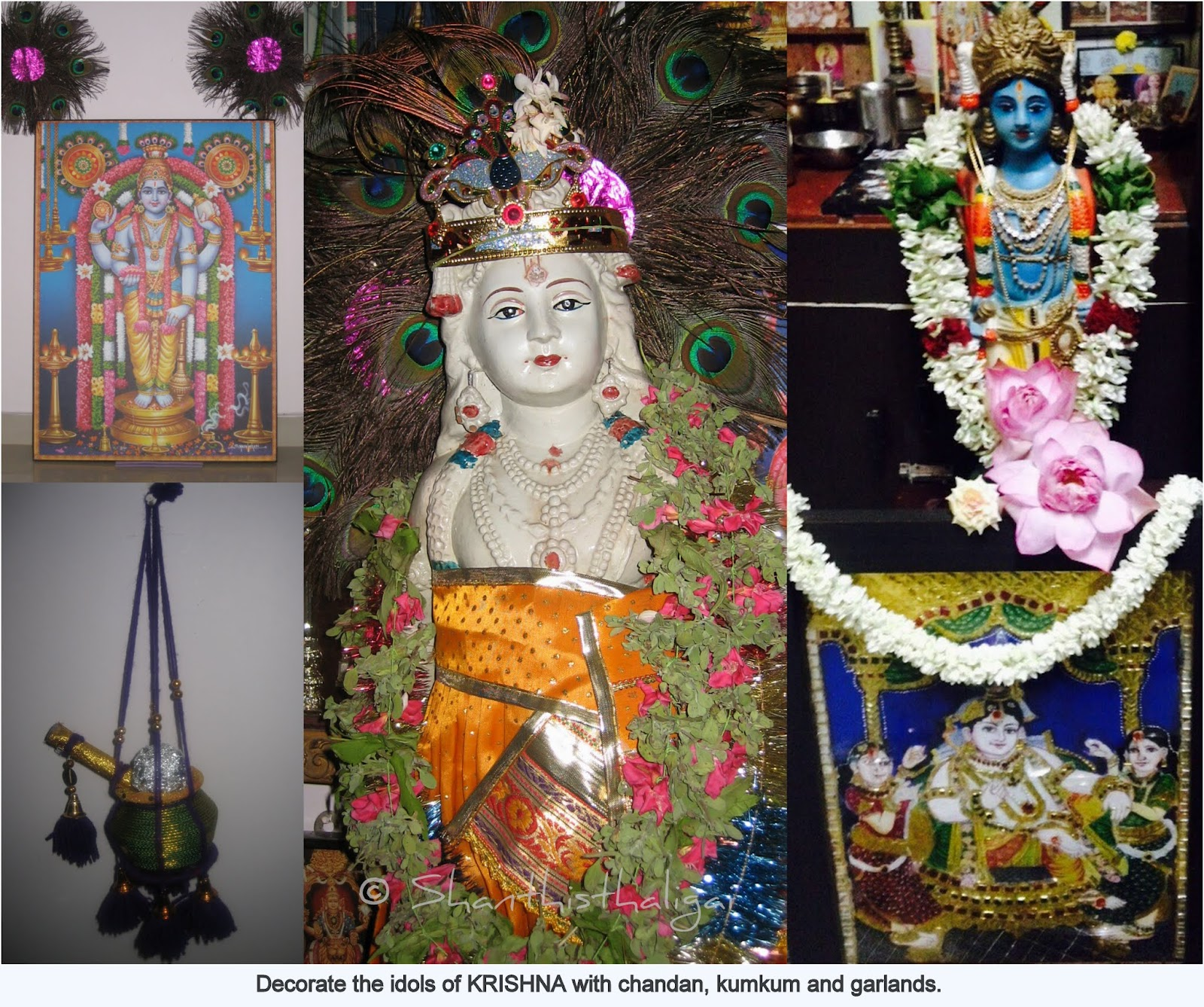 A COMPLETE GUIDE FOR SRI KRISHNA JAYANTHI / GOKULASHTAMI CELEBRATIONS, How to celebrate Gokulashtami, How to celebrate Krishna jayanthi,
