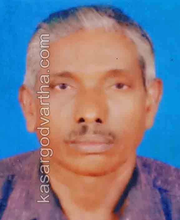 News, Kerala, Kasaragod, Obituary, Former dancer Thelapravan Narayanan of Koyonkara Payyakkal Bhagwati temple has passed away.