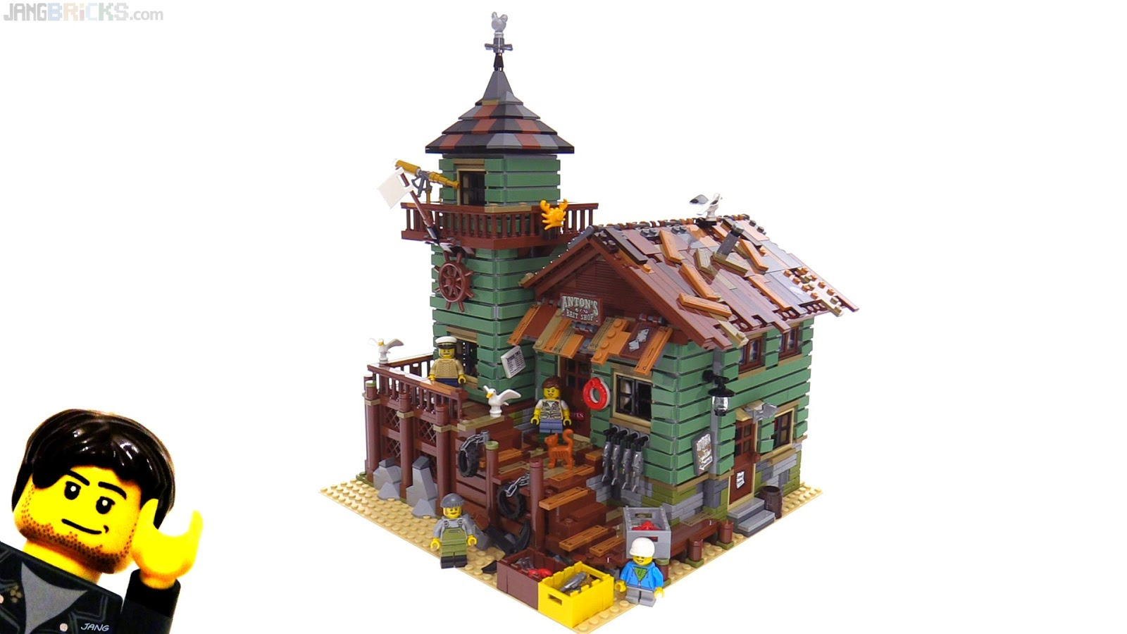 Lego ideas old fishing store review 21310 for Lego old fishing store