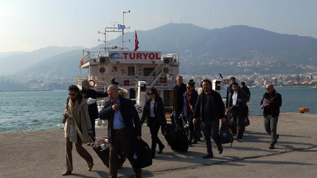 """Με σφραγίδα του ψευδοκράτους Τούρκος """"επόπτης"""" στη Χίο"""