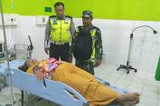 Lakalantas di Tebo Tengah, Korban Dilarikan ke RSUD Tebo